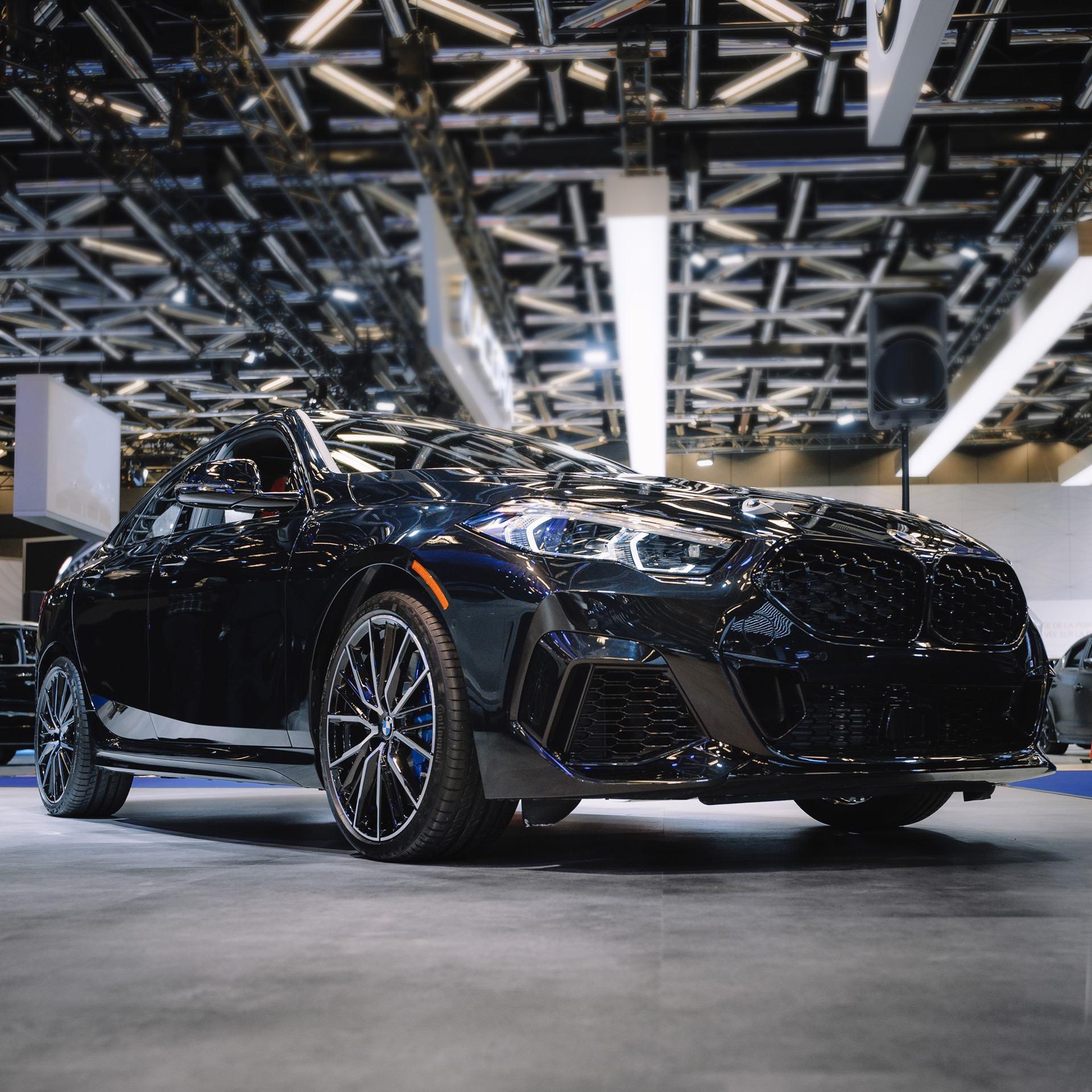 BMW 2 Series Gran Coupe In Sapphire Black Looks Pretty Good