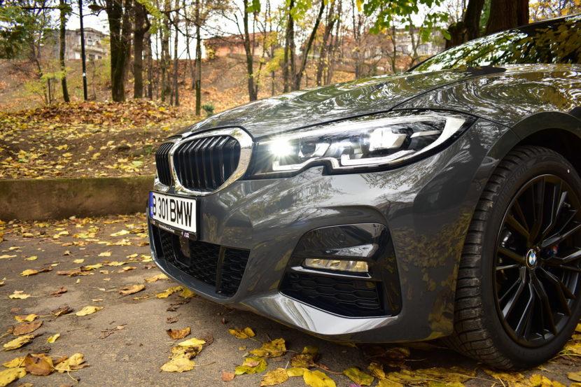 BMW 320d xDrive M Sport Touring TESTDRIVE RO 56 830x553