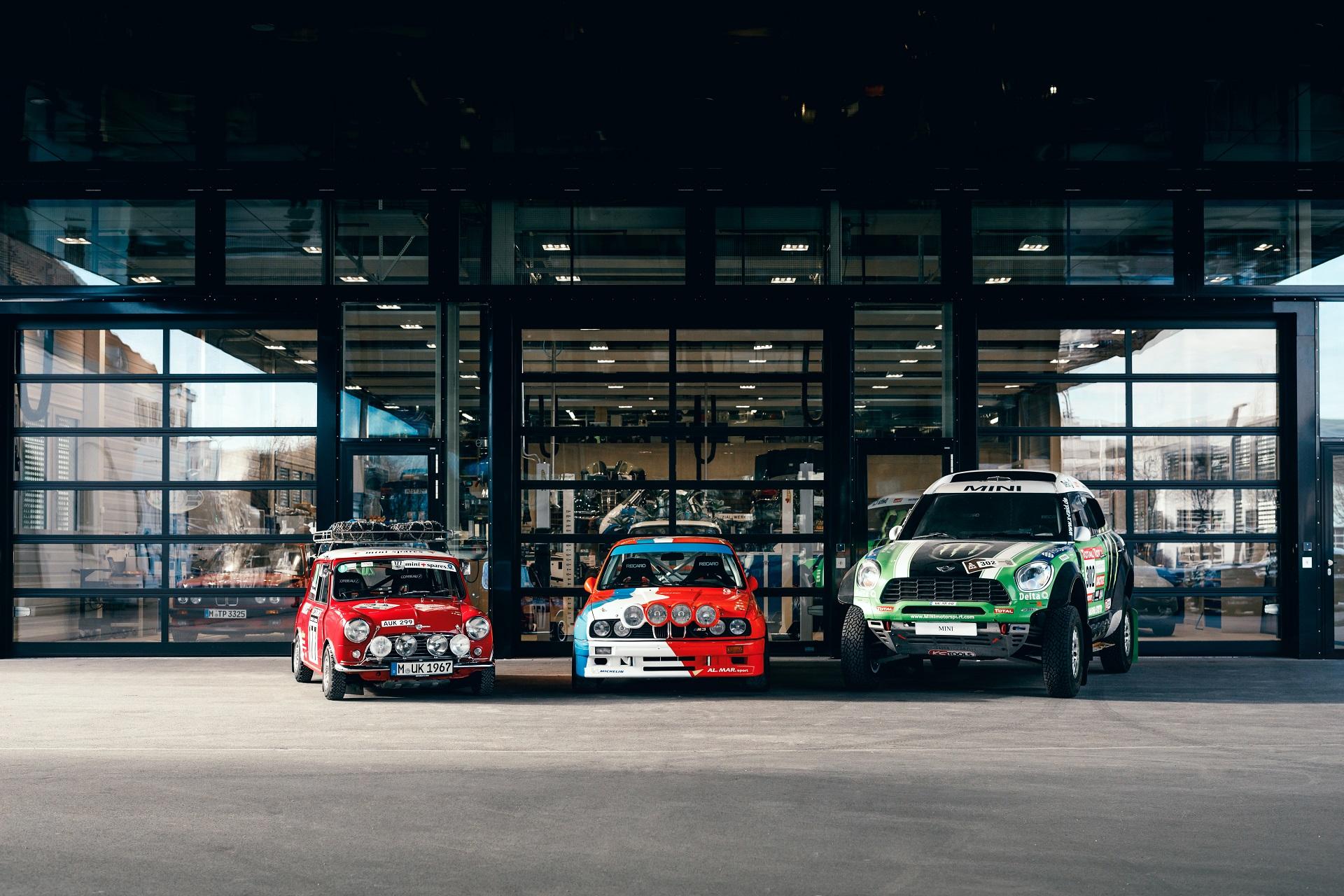 BMW E30 M3 Rally MINI Racing Mini Cooper S