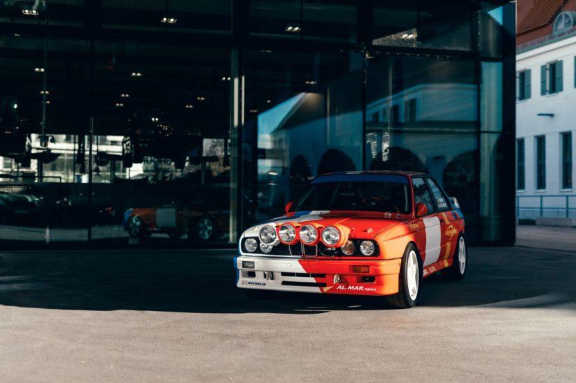 BMW E30 M3 Rally car 830x553