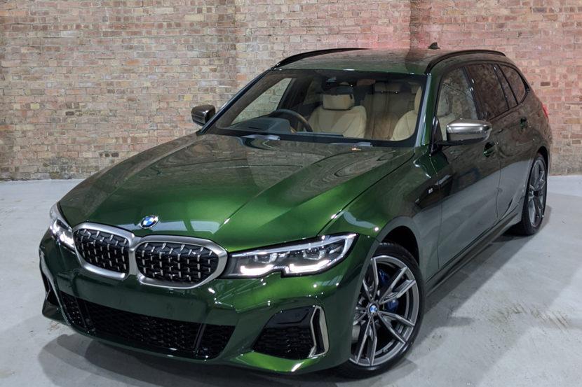 BMW M340i Touring Verde Ermes 830x553