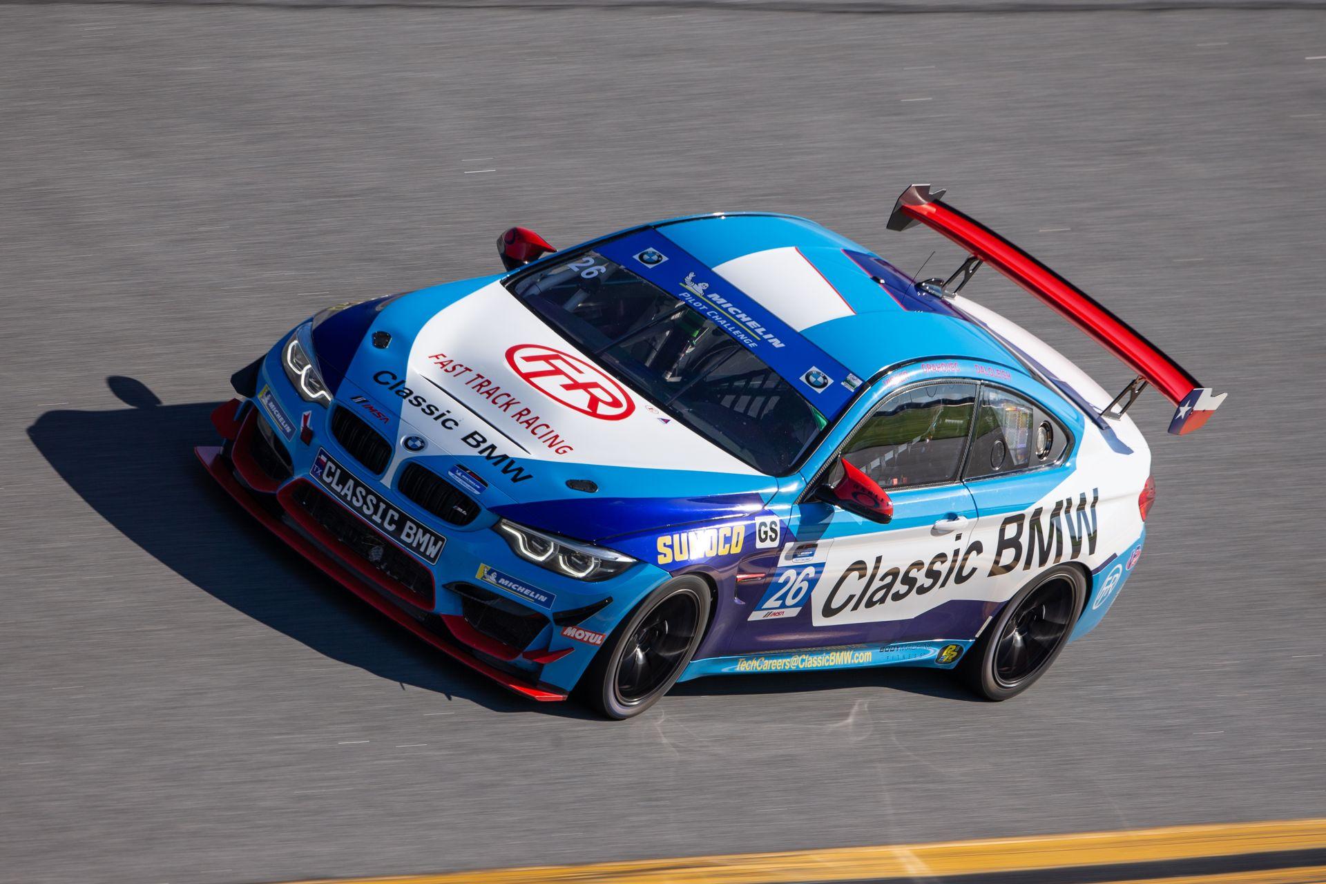 Five BMW M4 GT4 Cars will race at IMSA 2020 Opener in Daytona