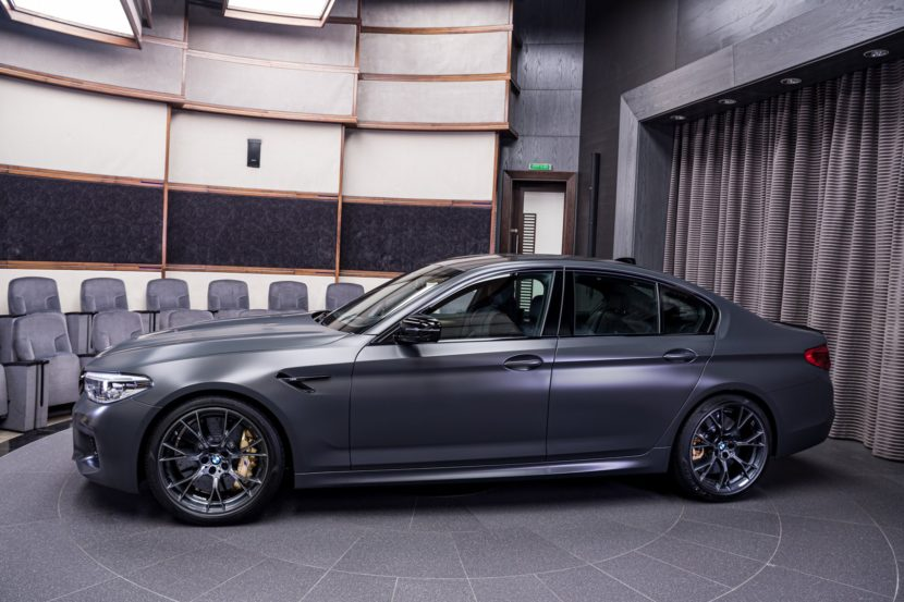 BMW M5 35 Jahre Edition in Frozen Dark Grey II 3 830x553
