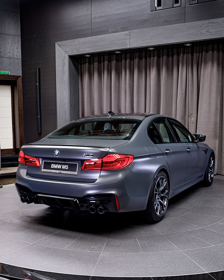 """The New BMW M5 Edition 35 Years Edition """"Jahre"""" Arrives In"""