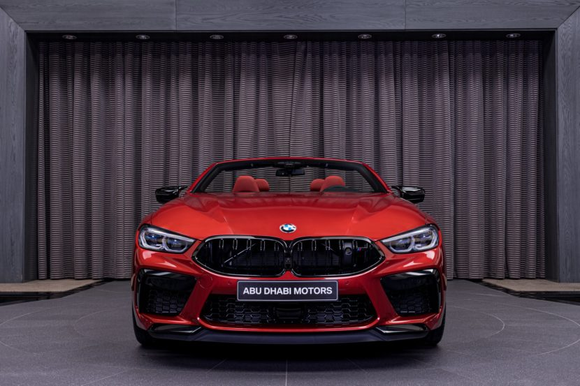 BMW M8 Competition Convertible F91 in Motegi Red 1 830x553