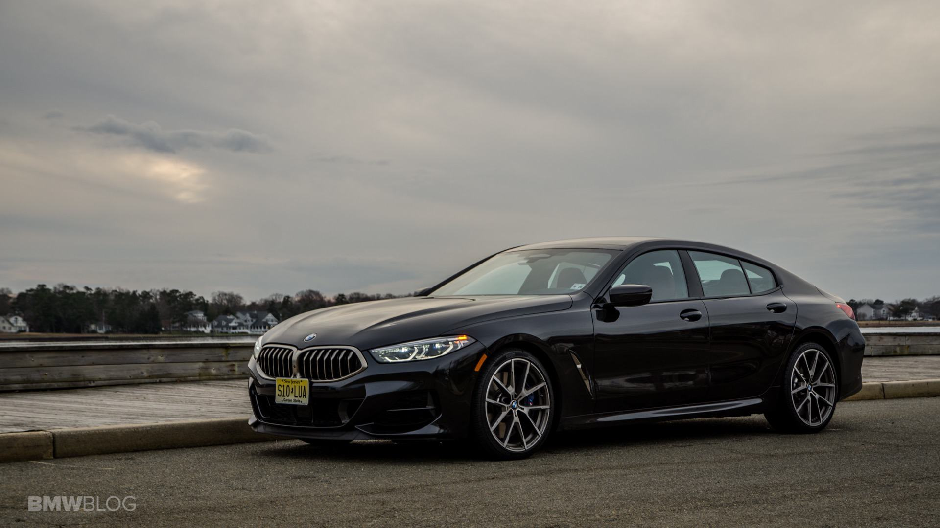 BMW M850i Gran Coupe test drive review 33