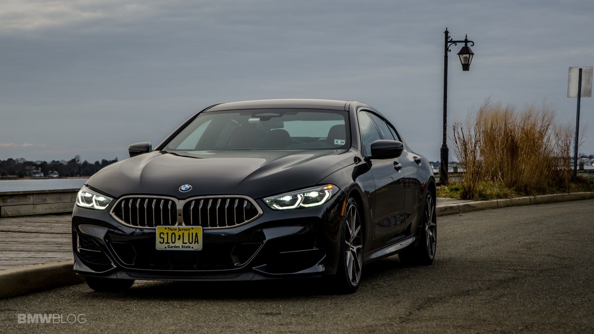 BMW M850i Gran Coupe test drive review 34