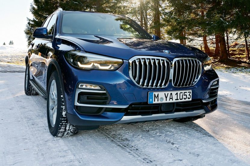 BMW X5 G05 in winter 830x553