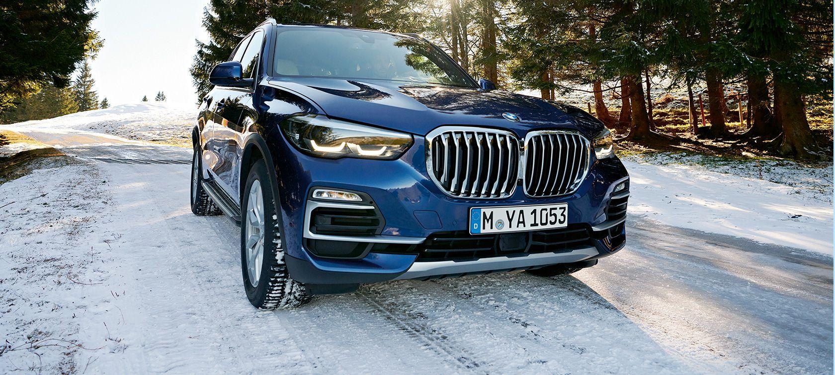 BMW X5 G05 in winter