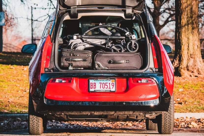 BMW i3 Cargo Space stroller 2 830x553