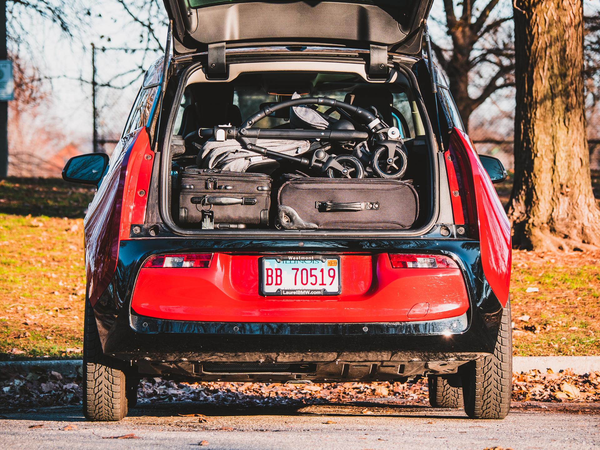 BMW i3 Cargo Space stroller 2