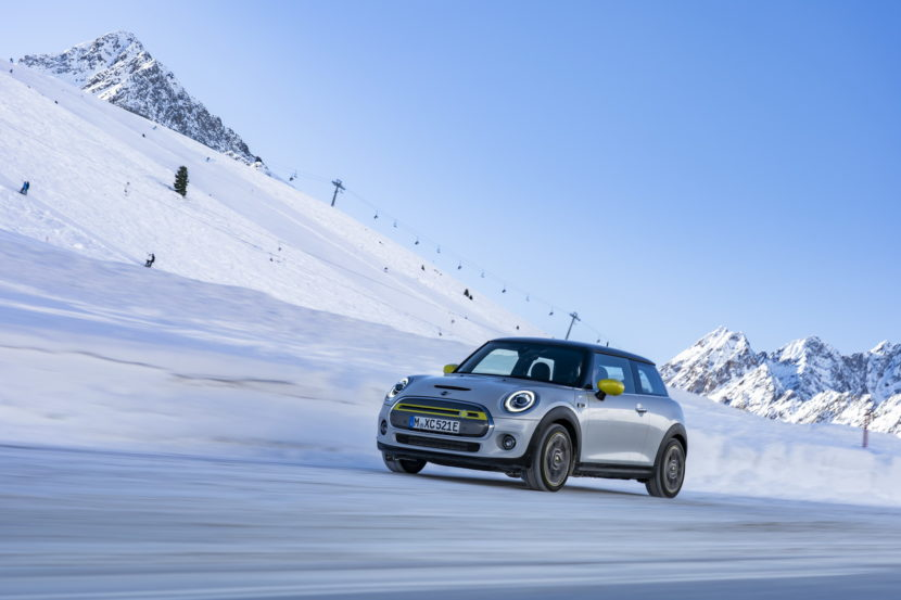 MINI Cooper SE in the Austrian Alps 2 830x553