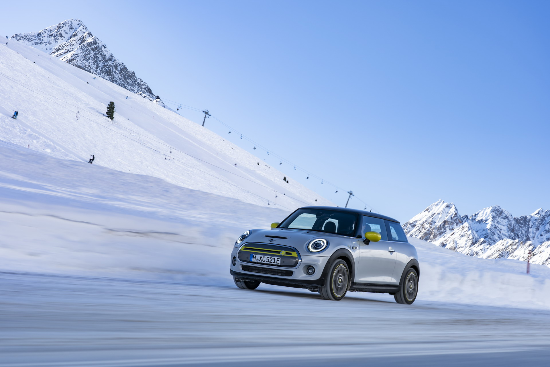 With the MINI Electric in Alps: from Munich to Sölden without recharge