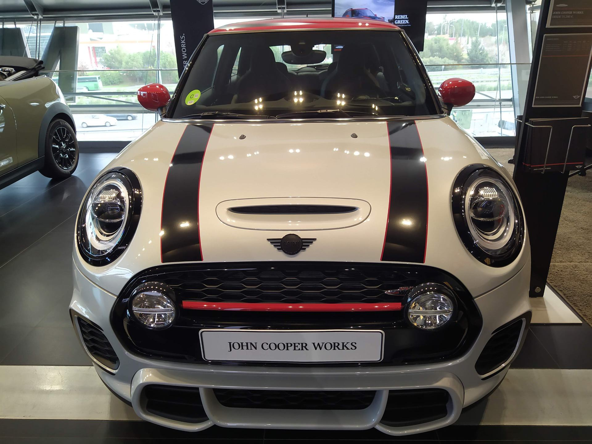 MINI JCW F56 decked out with lots of performance parts