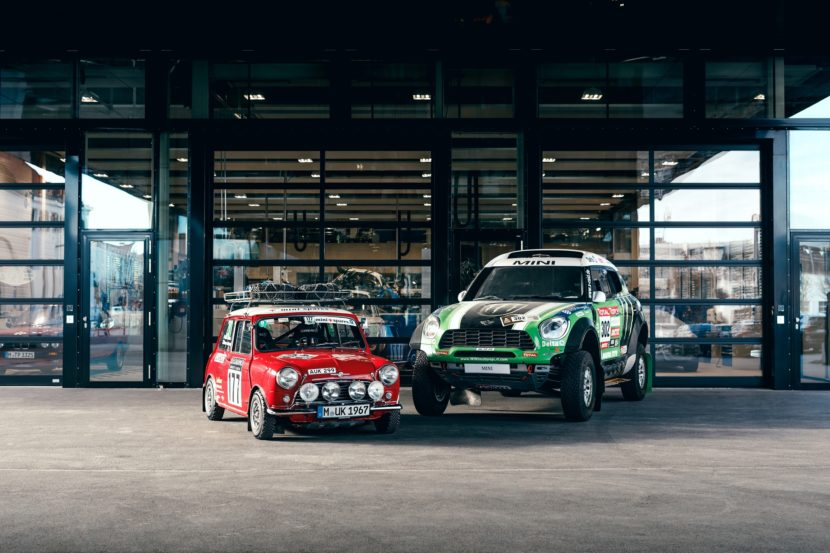 Mini Cooper S vs Mini Racing Rally Car 830x553