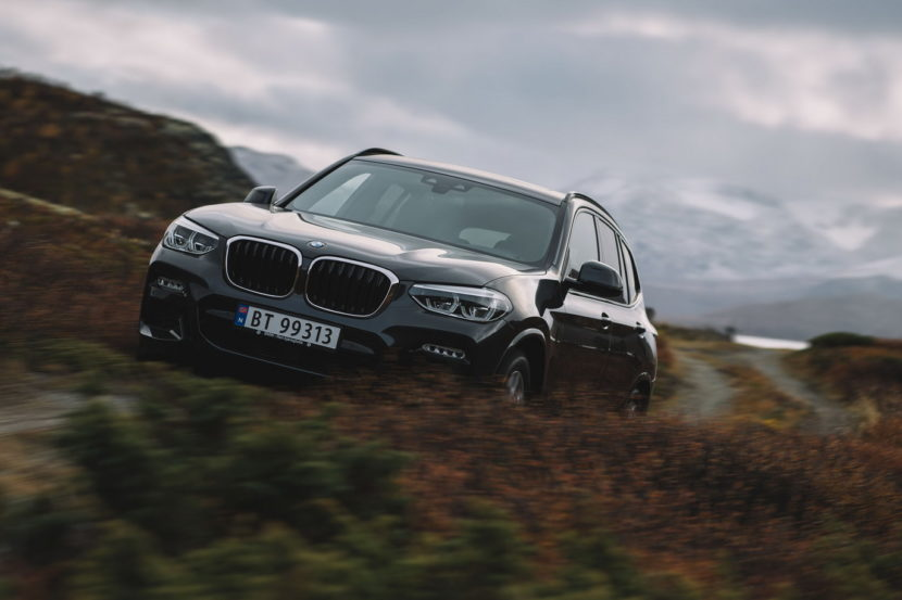 Norway Postcards with BMW X3 1 830x553