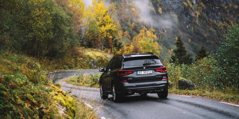 Norway Postcards with BMW X3 5 830x415