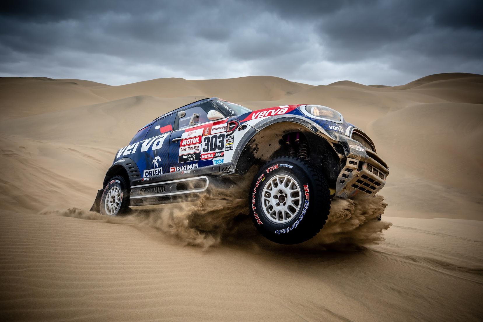 MINI to Tackle 2020 Dakar Rally with nine cars in Saudi Arabia