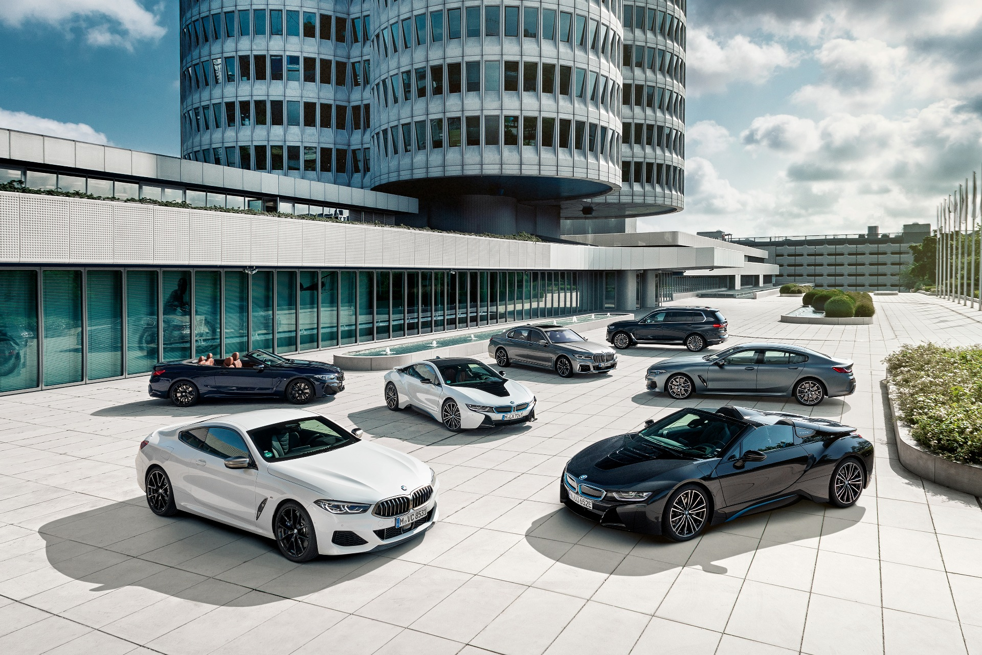 The BMW luxury class portfolio