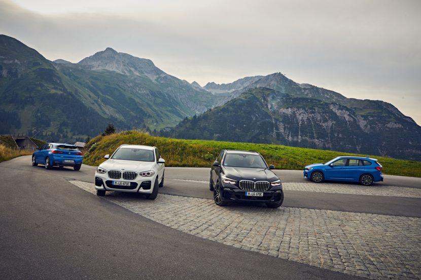 The new BMW X1 xDrive25 and X2 xDrive25e 3 830x553