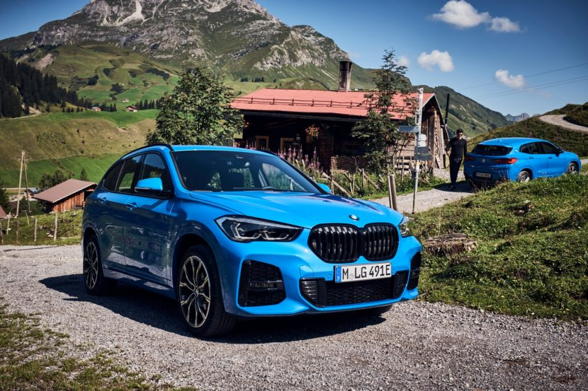 The new BMW X1 xDrive25 and X2 xDrive25e 4 830x553