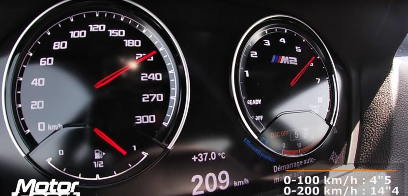 bmw m2 competition instrument cluster 830x399