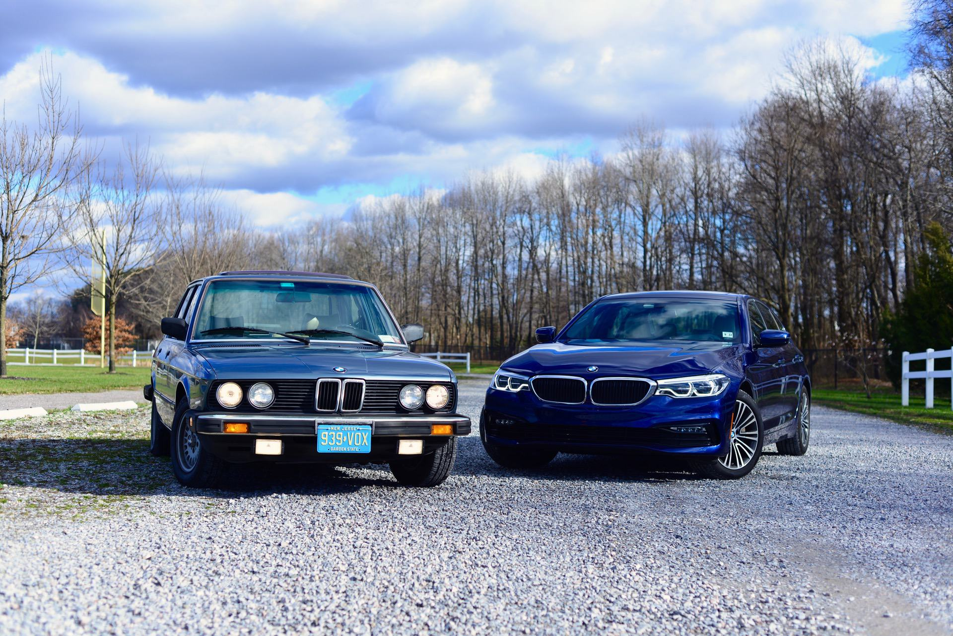 TEST DRIVE: 1983 BMW 528e (E28) vs BMW 540i (G30)