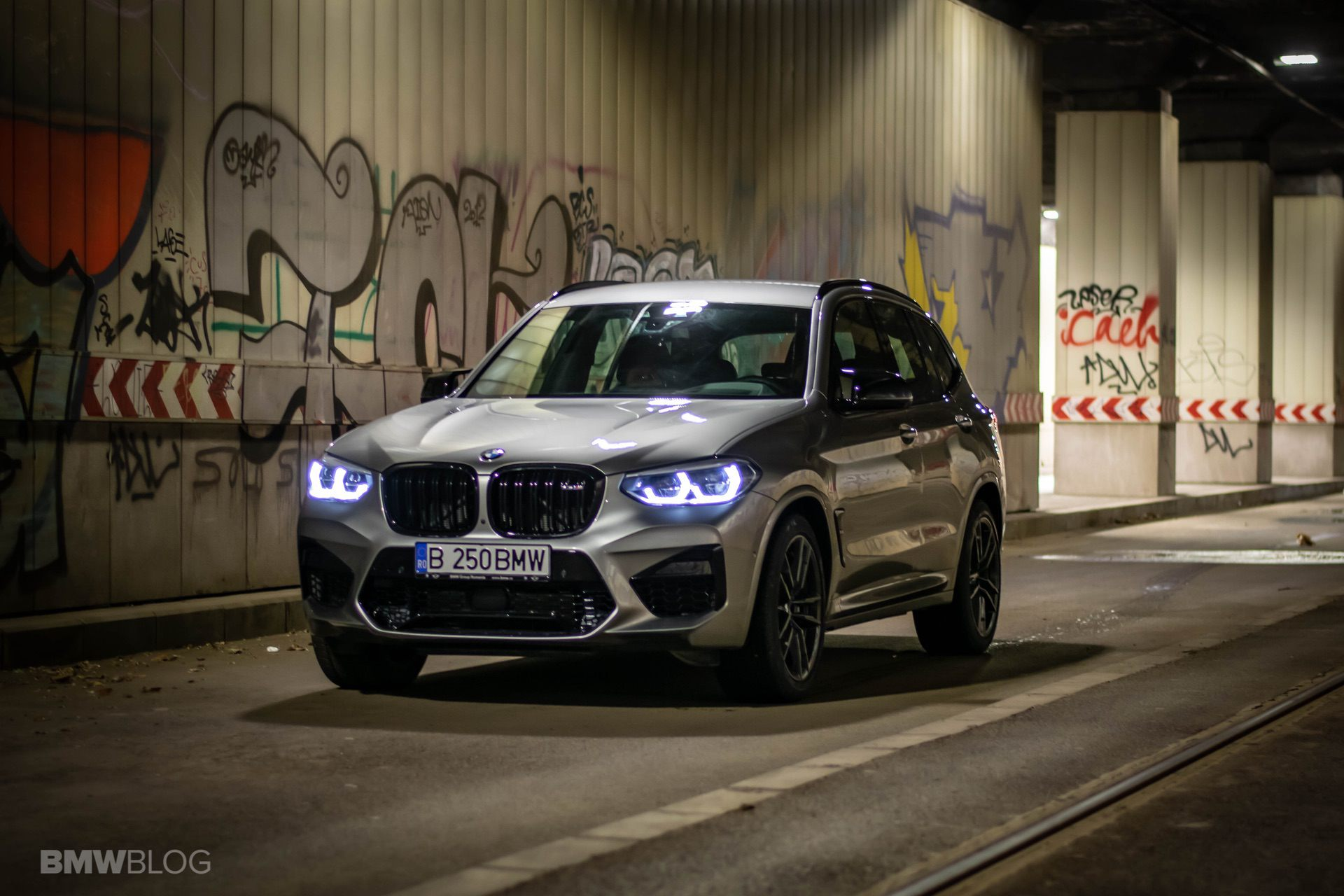 2020 BMW X3M Competition review test drive 51
