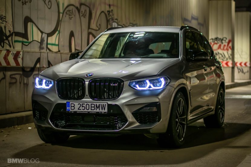 2020 BMW X3M Competition review test drive 54 830x553