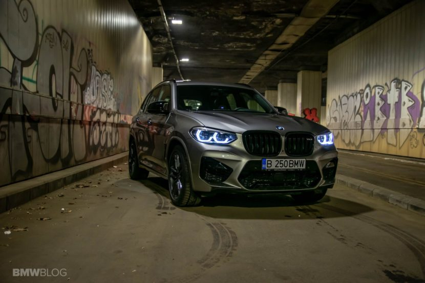 2020 BMW X3M Competition review test drive 66 830x553