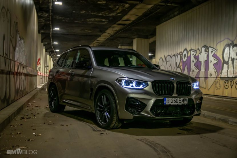 2020 BMW X3M Competition review test drive 67 830x553