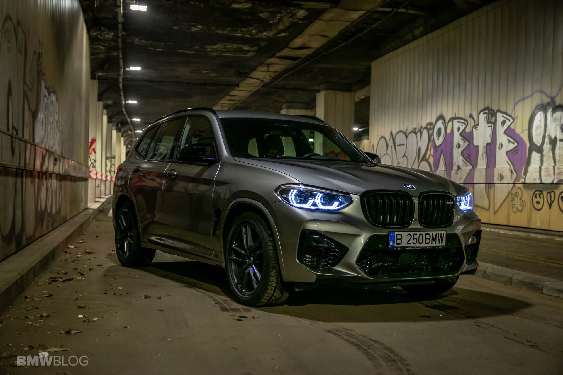 2020 BMW X3M Competition review test drive 67
