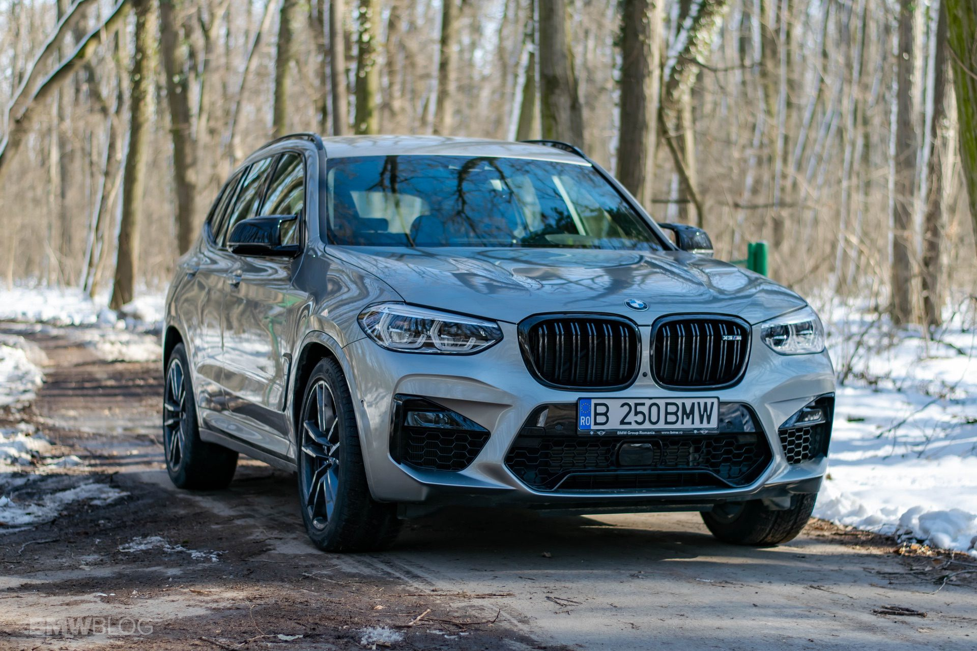 2020 BMW X3M Competition review test drive 75
