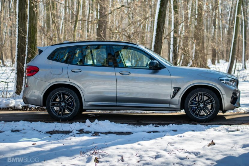 2020 BMW X3M Competition review test drive 79 830x553