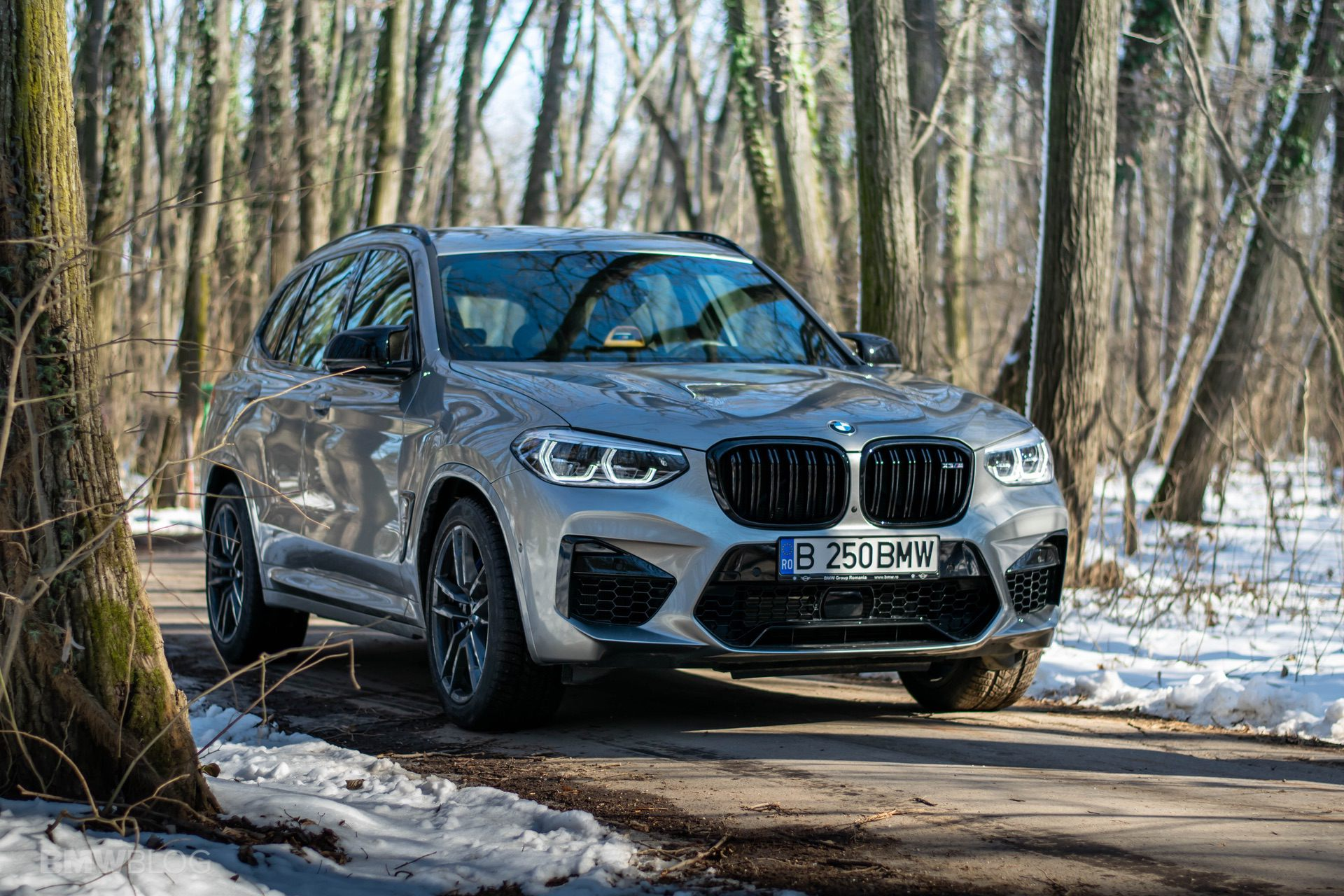 2020 BMW X3M Competition review test drive 80