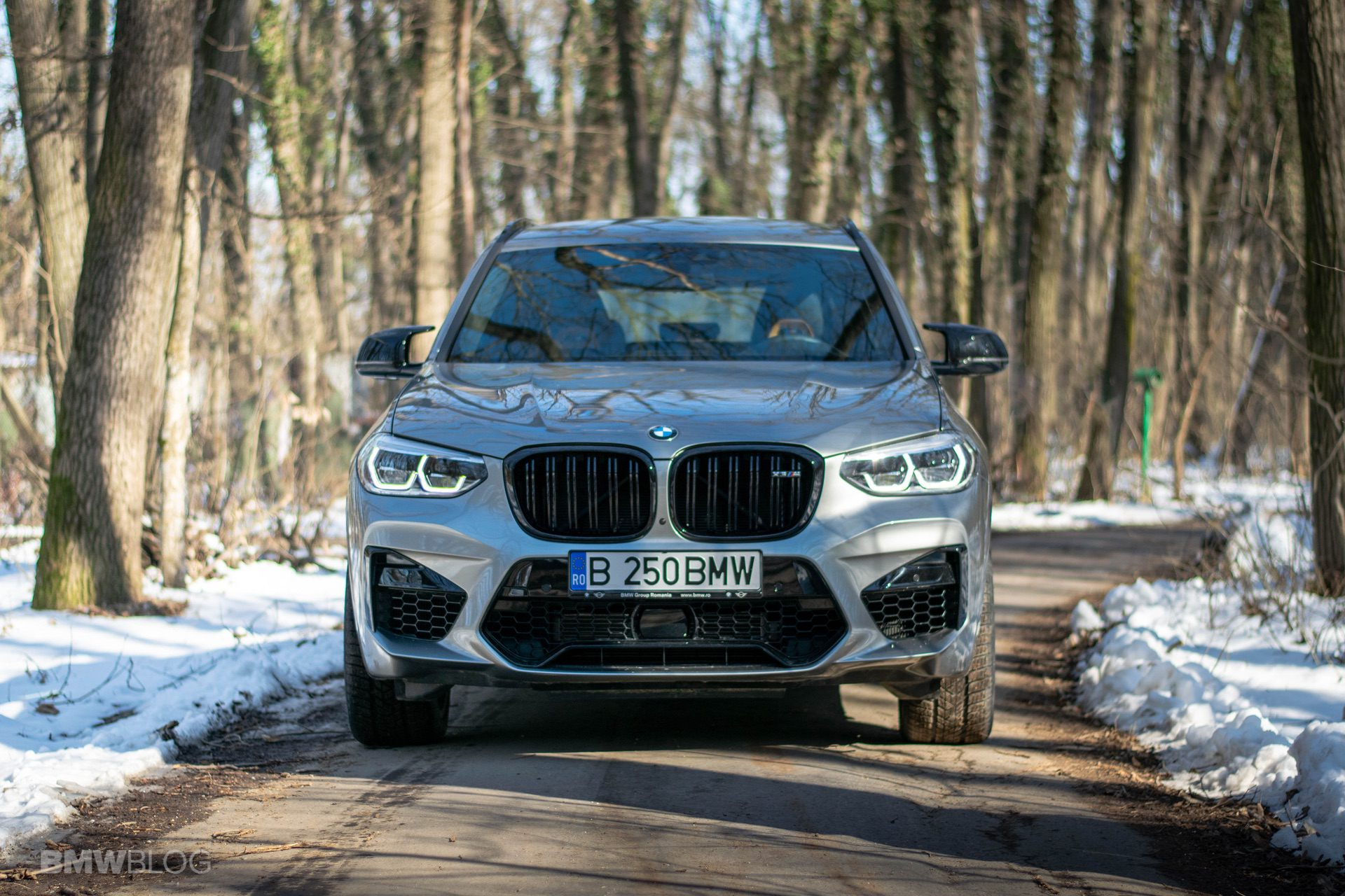 2020 BMW X3M Competition review test drive 81