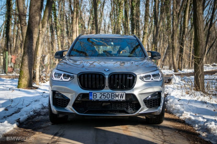 2020 BMW X3M Competition review test drive 90 830x553