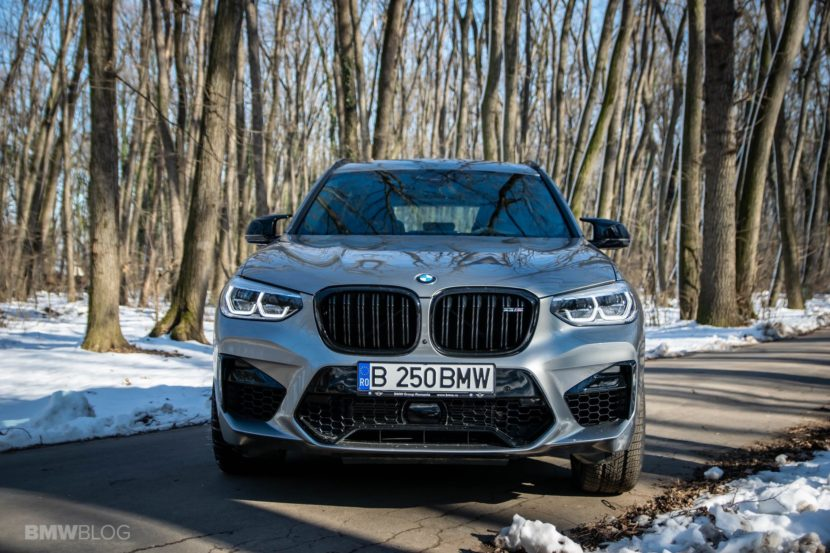 2020 BMW X3M Competition review test drive 95 830x553
