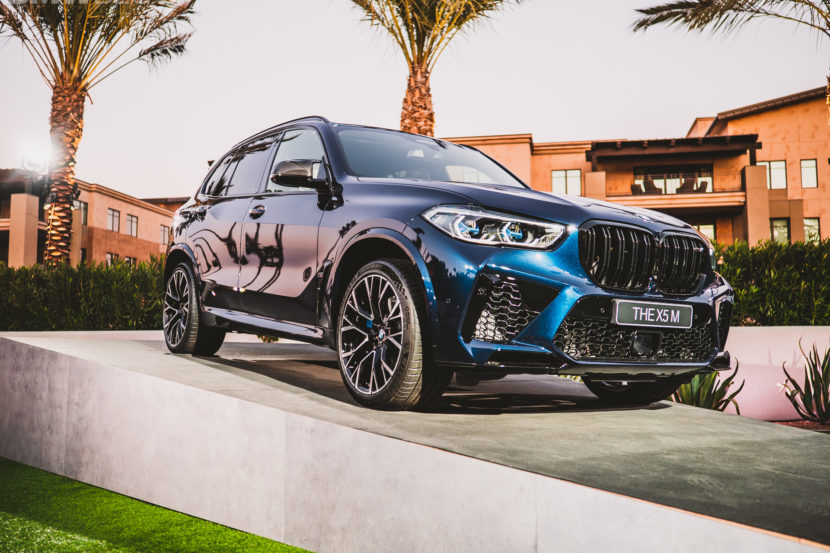 2020 BMW X5M Competition Tanzanite Blue 13 830x553