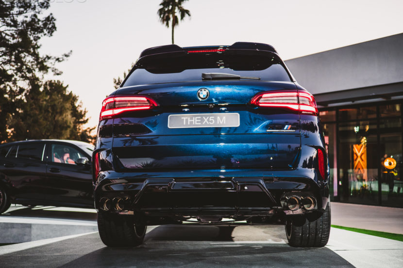 2020 BMW X5M Competition Tanzanite Blue 25 830x553