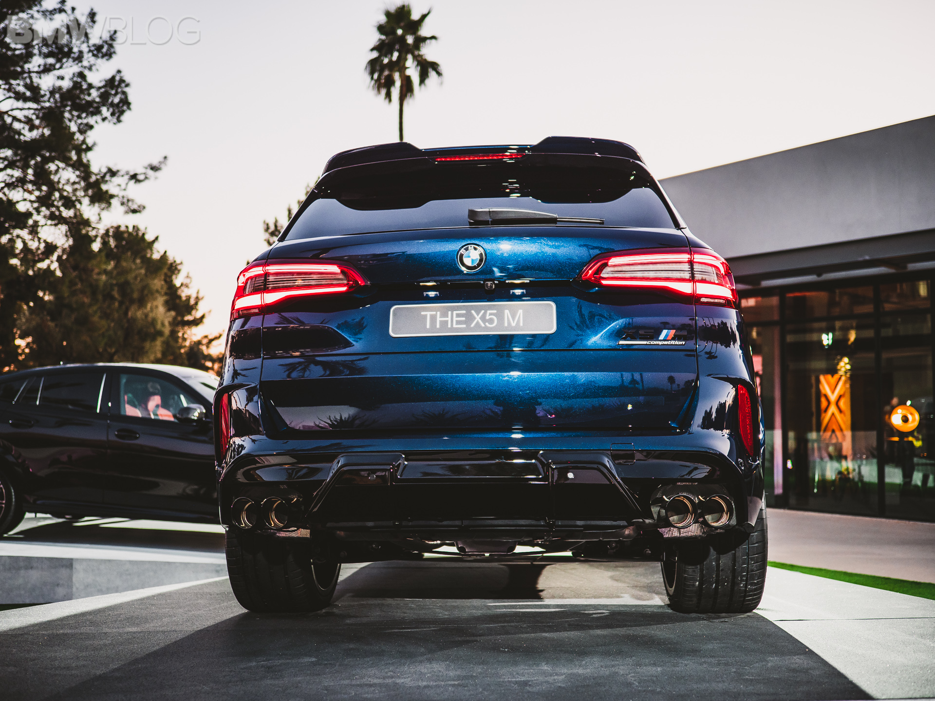 2020 BMW X5M Competition Tanzanite Blue 25