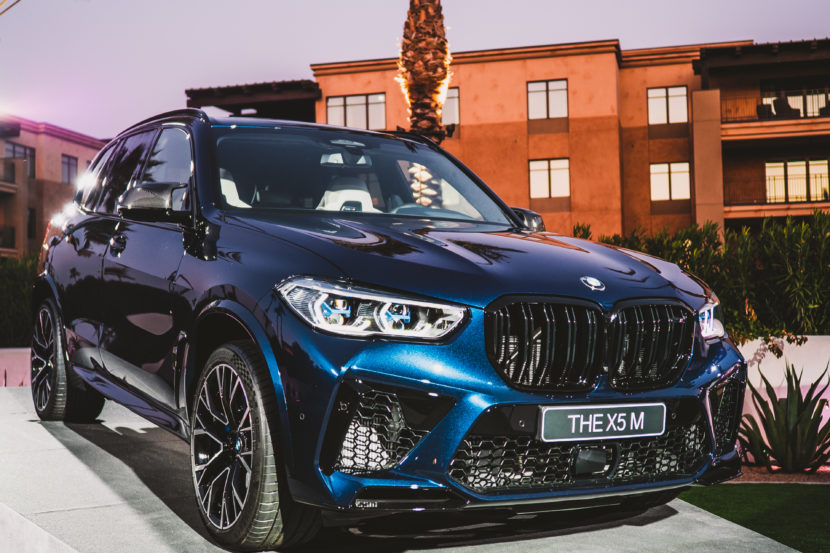 2020 BMW X5M Competition Tanzanite Blue 30 830x553