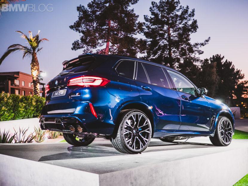2020 BMW X5M Competition Tanzanite Blue 33 830x623