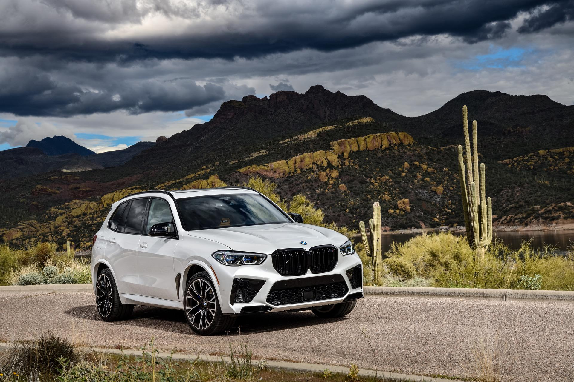 2020 Bmw X5m Competition White