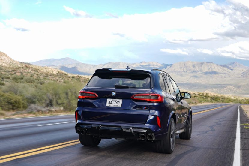 2020 BMW X5M Tanzanite Blue II 33 830x553