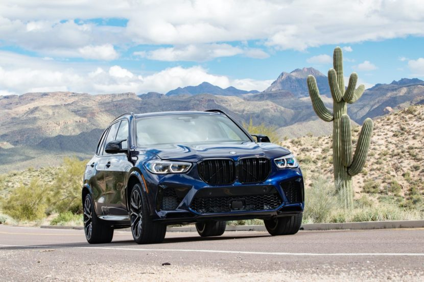 2020 BMW X5M Tanzanite Blue II 70 830x553