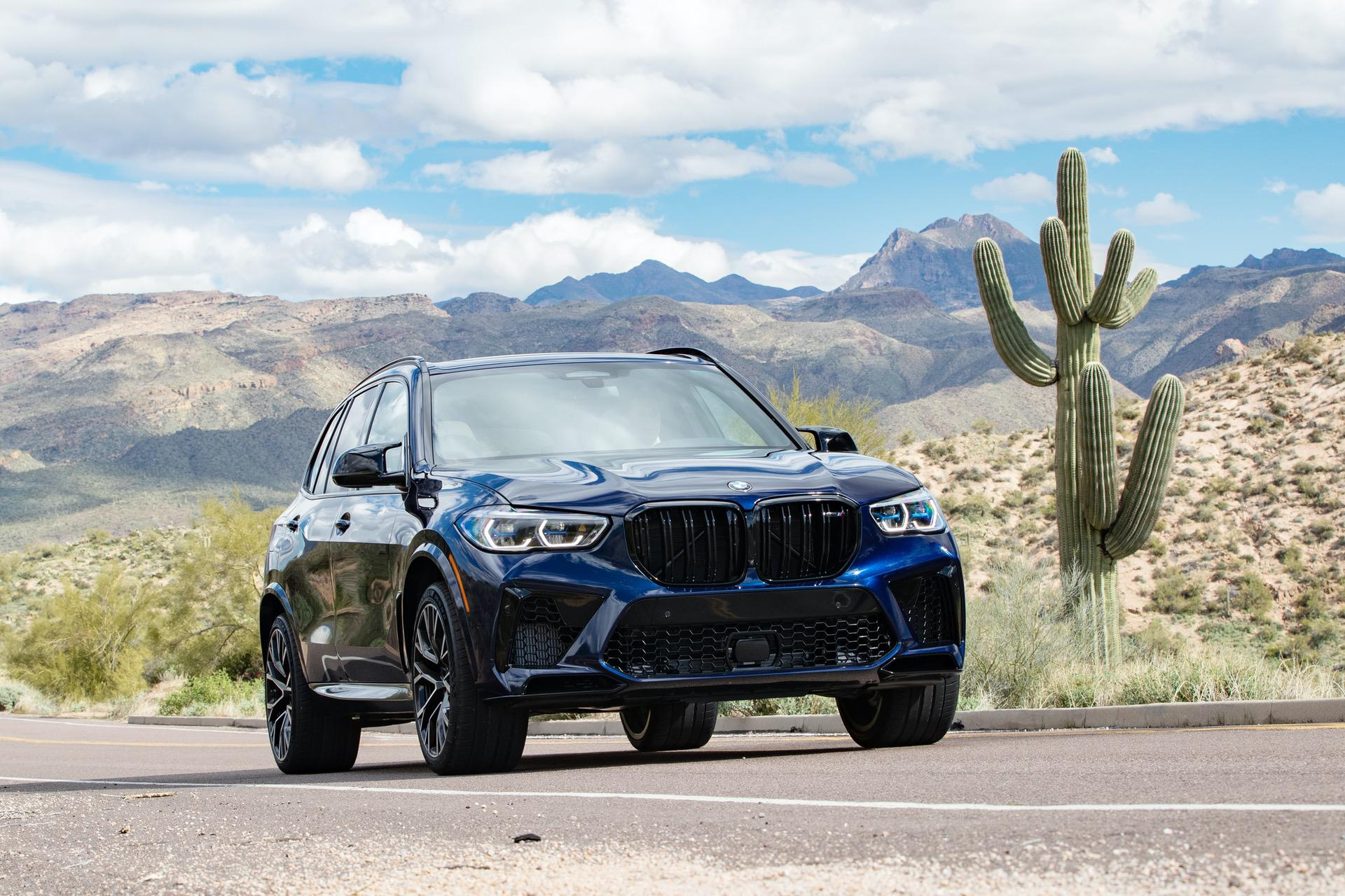2020 BMW X5M Tanzanite Blue II 70