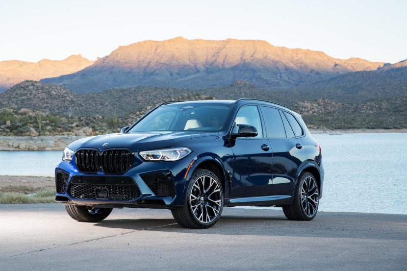 2020 BMW X5M Tanzanite Blue II 74 830x553