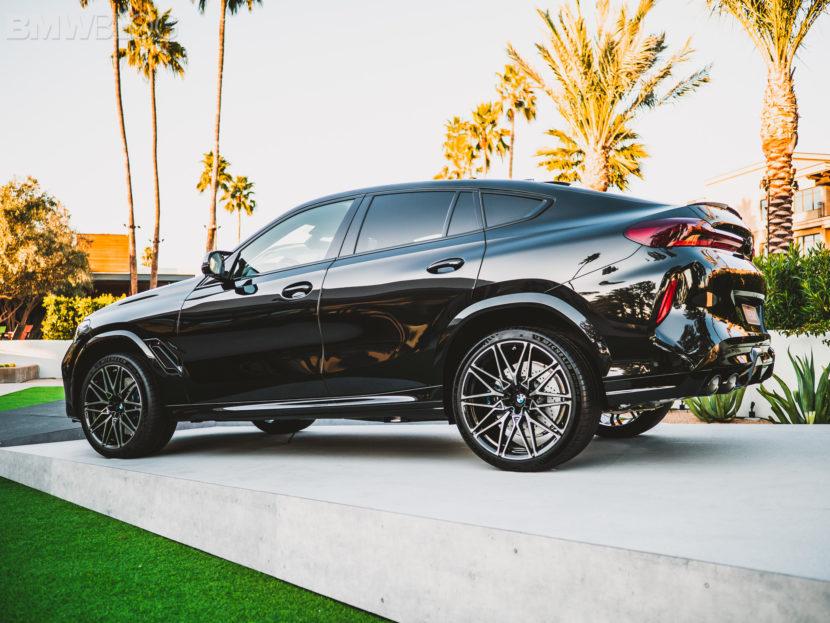 2020 BMW X6M Competition Carbon Black 11 830x623