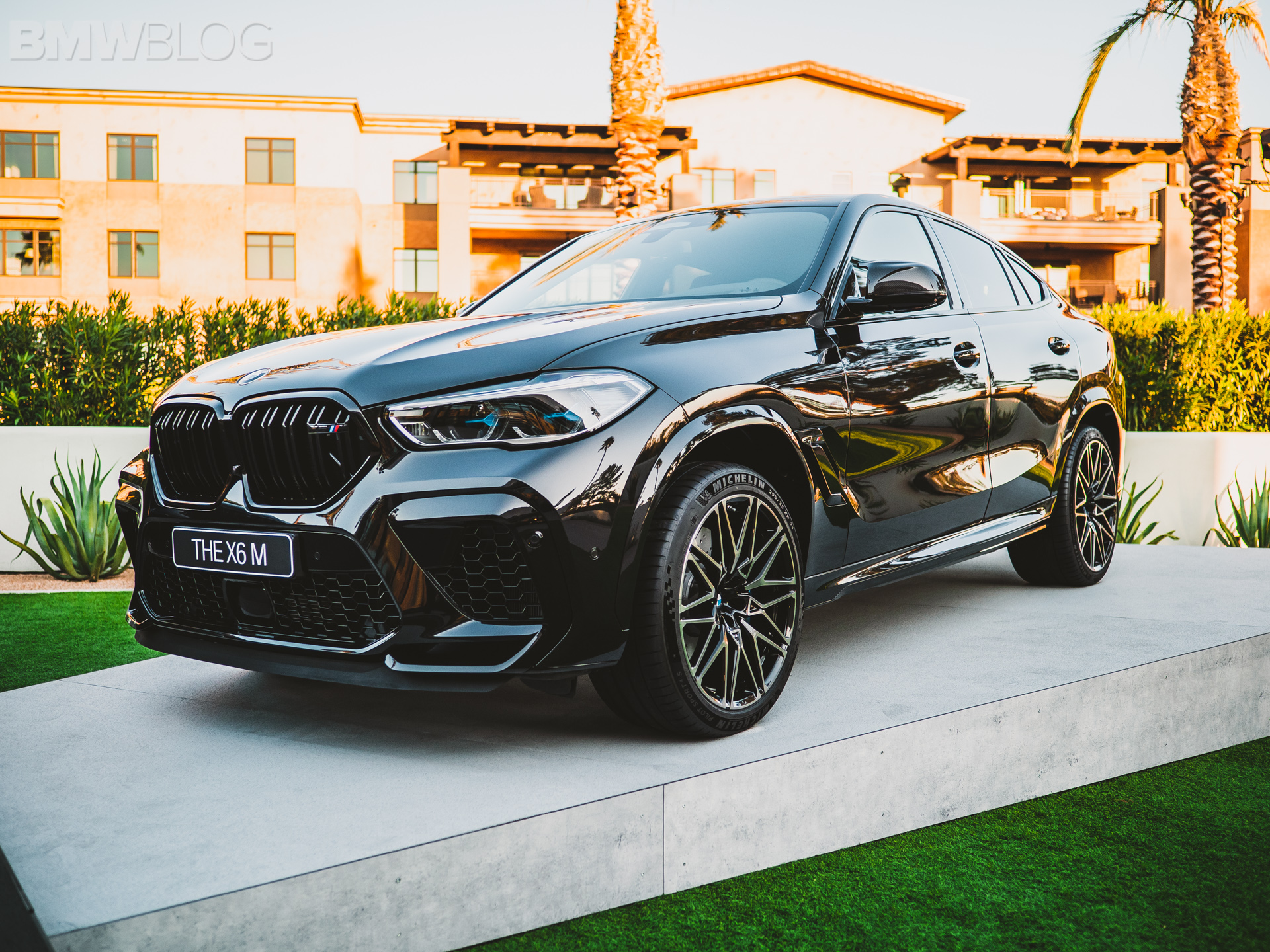 2020 BMW X6 M Competition in Carbon Black Metallic - EXCLUSIVE PHOTOS